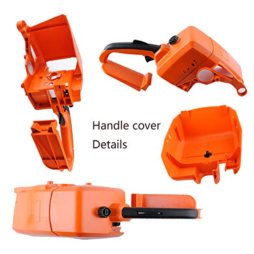 Wadoy Handle Cover for STIHL Chainsaw Parts 029 034 036 039 MS290 MS310 MS390 New #1127 790 1001 - Rear Handle with Air Filter Cover Assembly