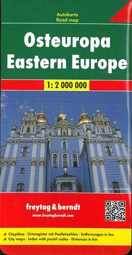 F&B Oost-Europa: Wegenkaart 1:2 000 000
