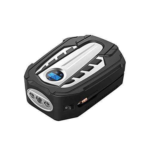 WEI-LUONG Neumáticos Bomba de batería portátil, compresor de aire eléctrico de bomba de aire Mini coche, contador de neumáticos digitales 12V DC medidor, para bicicleta de coche Presión de motocicleta
