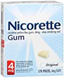 Nicorette Gum Original 4mg - 170 Count