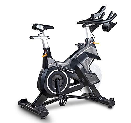 Bicicleta Ciclismo Indoor BH SuperDuke Magnetic ANT+ - Autogenerada - Peso volante 18Kg - Ruedas de transporte - Pedales mixtos - freno magnético - uso profesional