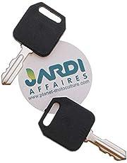 Jardiaffaires - Juego de 2 llaves de contacto universal adaptable para 2309683, 2309687 y 2309688