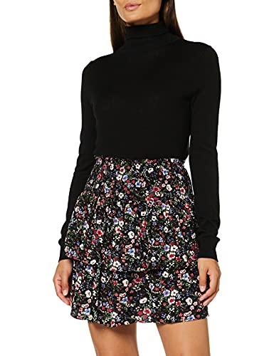 Joe Browns Tiered Floral Skirt Gonna, Nero, 40 Donna