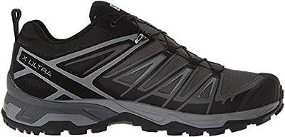 Salomon Men's X Ultra 3 GTX Hiking Shoes, Black/Magnet/Quiet Shade, 12