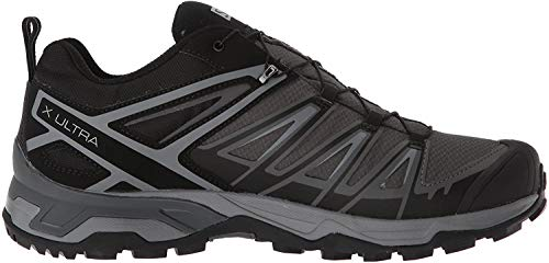 SALOMON Men's X Ultra 3 GTX Climbing Shoes, Black (Black/Magnet/Quiet Shad), 10 UK 44 2/3 EU