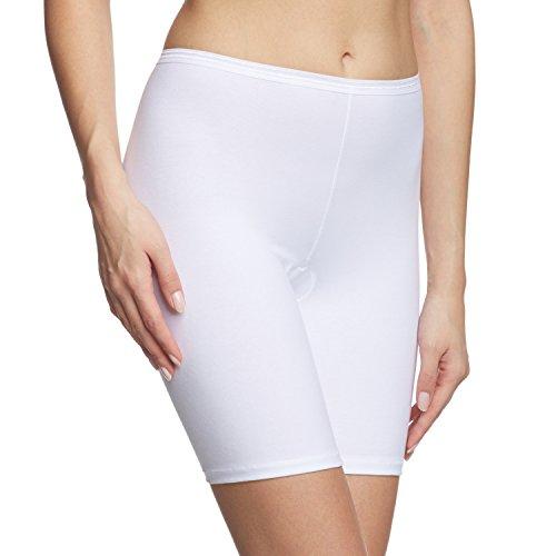 Calida Damen Hose Comfort Panties, Weiß (Weiss 001), 42 (Herstellergröße: S)