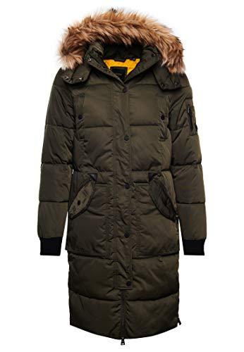 Superdry Chinook Damen Parka, Farbe:Schwarz, Größe:XS