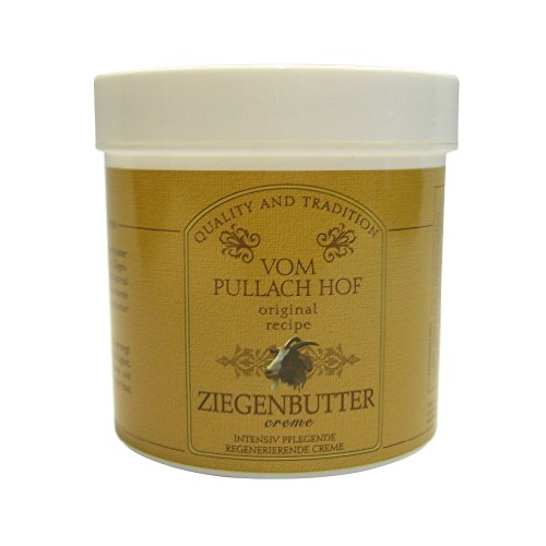3 Dosen / Tiegel Ziegenbutter Creme vom Pullach Hof