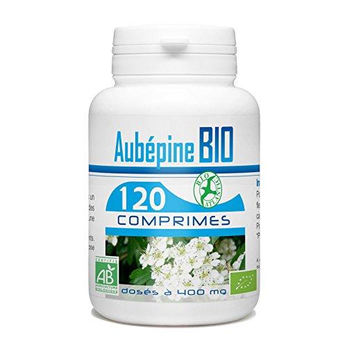 Aubépine Bio - 400 mg - 120 comprimés