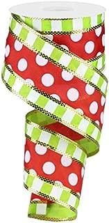Best polka dot christmas ribbon wired Reviews