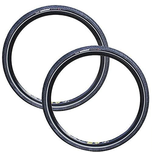SAJDH Neumático De Bicicleta De Montaña 26 * 1.75 Neumático A Prueba De Pinchazos Y Kit De Reparación De Neumá,ticos De Bicicleta 2 Piezas,Puncture Resistance Level 1