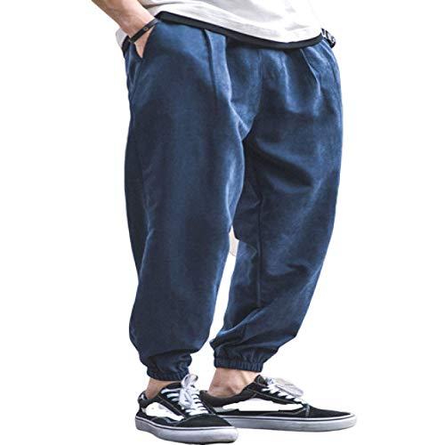 Herren Entspannte Big Size Beam Feet Jogginghose Streetwear Trend Elasticated Waist Classic Basic Casual Cargo Hose 3XL
