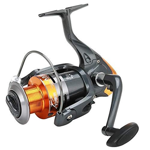 HXF- Línea Especial de Ruedas Pesca Spinning Wheel Lanzar Caña de Pescar mar Rod Rueda Full Metal Carrete Rueda de Carretera Pesca Precisión (Size : 2000)