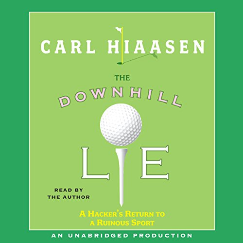 The Downhill Lie audiobook cover art