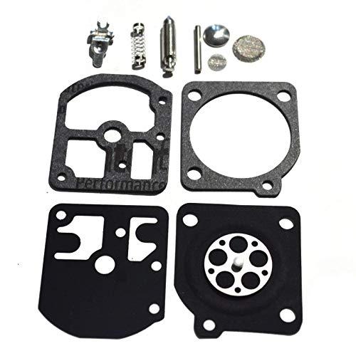Carburetor Rebuild Kit Carb Repair Set Gasket Diaphragm for Zama RB-11, C1S-S1, A-C Stihl 009 010 011 012
