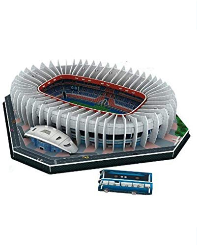 WPLHH Paper 3D Puzzles,Parc des Princes Building Sets 3D Construction Toys Model Kits,Educational Toy for Kids and Adults,Gift for Boys and Girls