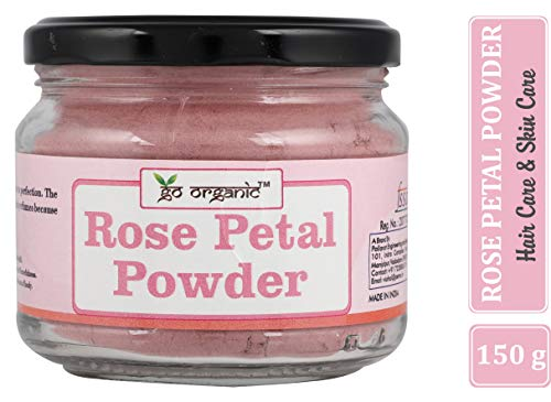 Go Organic Rose Petal Powder, 150 G