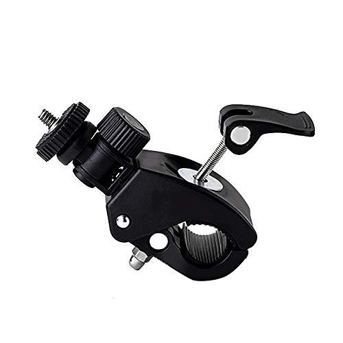 FYQF Schnellspanner Rohrschelle mit 1/4 20 Gewindekopf für Kameras und iPad Halterungen Arbeiten für Stative, Rohr oder Bar bis zu 1,5 Zoll im Durchmesser für Motorräder, Fahrräder