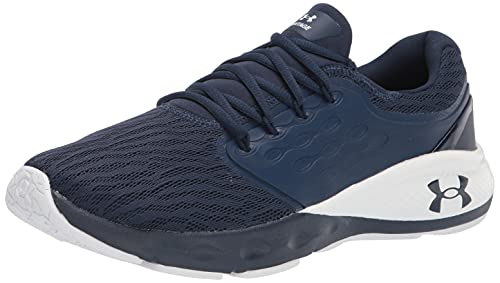Under Armour Men's Charged Vantage Running Shoe, Academy Blue (400)/White, 10.5 Wide