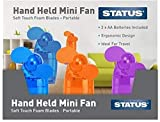 Hand Held Mini Fan available in 3 colours - <span class='highlight'>selected</span> at random