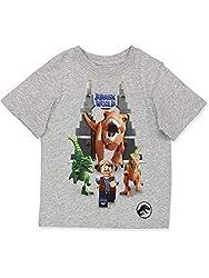 6. LEGO Jurassic World Dinosaur Boy's T-Shirt