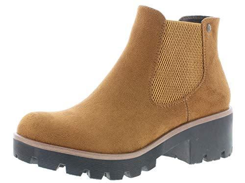 Rieker Damen Chelsea Boots 99284, Frauen Stiefeletten,Ladies,Boots,Stiefel,Bootee,Booties,halbstiefel,Kurzstiefel,braun (24),39 EU / 6 UK