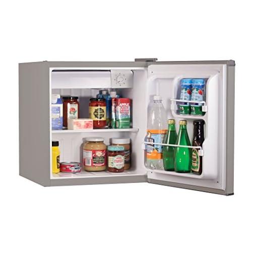 BLACK+DECKER BCRK17B Compact Refrigerator Energy Star Single Door Mini Fridge with Freezer, 1.7 Cubic Feet, Black 5