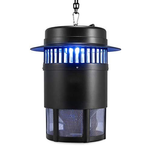 mafiti Bug Zapper Electric Insect Control Fruit Fly Pest Trap Mosquito Killer Gnats Drain Flies Kitchen Catcher Indoor Home (MS500 Fan) (MS500)