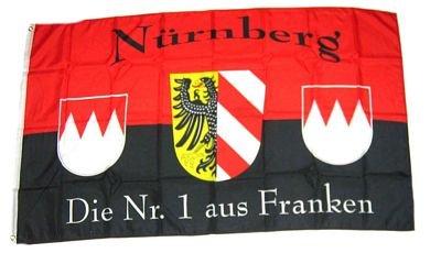 Fahne/Flagge Fußball Nürnberg NEU 90 x 150 cm Flaggen