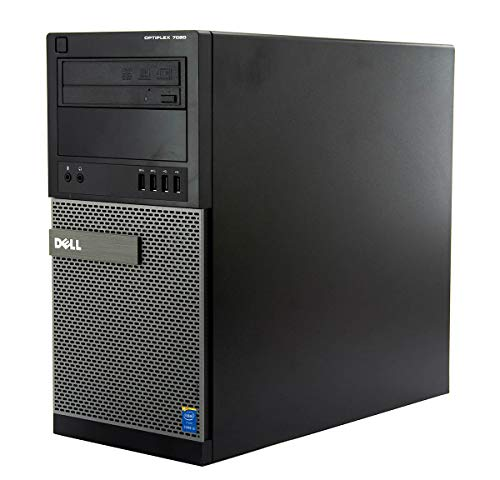 Windows 10 Dell 7020 Intel Core i5-4570s Tower PC Computer - 8GB DDR3-500GB HDD DVDRW -(Renewed)