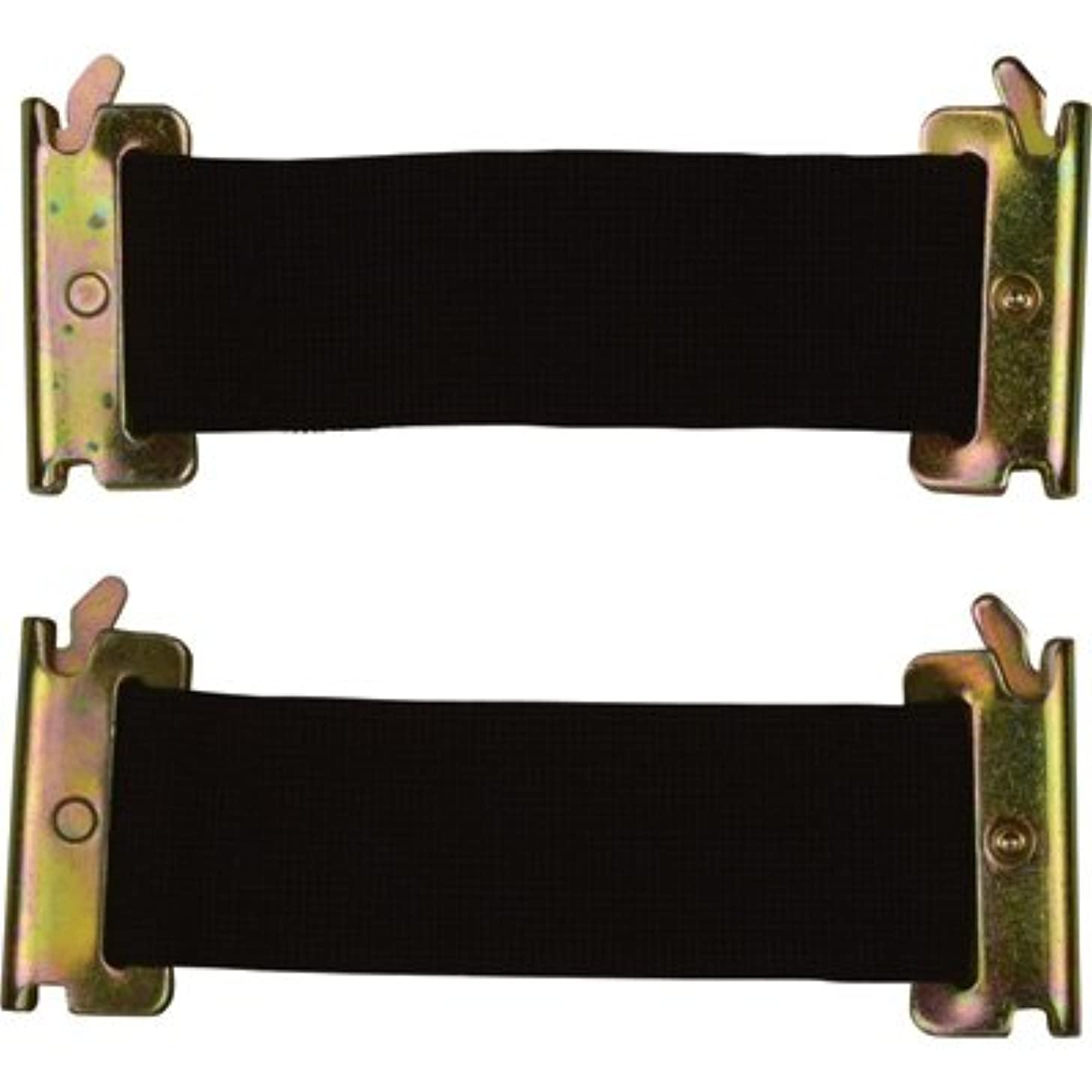 CargoSmart Standard Bungee Straps - 2-Pack, 2in.W x 6in.L, For E-Track and X-Track