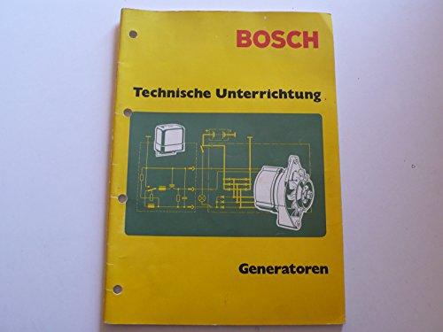 Bosch – Generatoren - Technische Unterrichtung