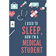 """Medical Student Notebook: 120 College Ruled Pages - 6"""" x 9"""" (Diary, Journal, Composition Book, Writing Tablet) - Gift For a Future Doctor in Medical School"""