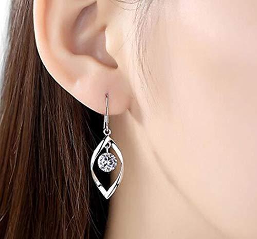 Jovono Boucles d'oreilles multicouches pendantes avec strass pour femmes et filles