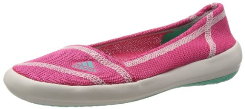 adidas Boat Slip-On Sleek D67013 Damen Ballerinas, Pink (Bahpnk/Bahm), EU 38 2/3 (UK 5.5)