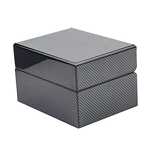 FITYLE Reloj único Caja de Regalo Joyas Pulsera Collar Organizador Titular Negro