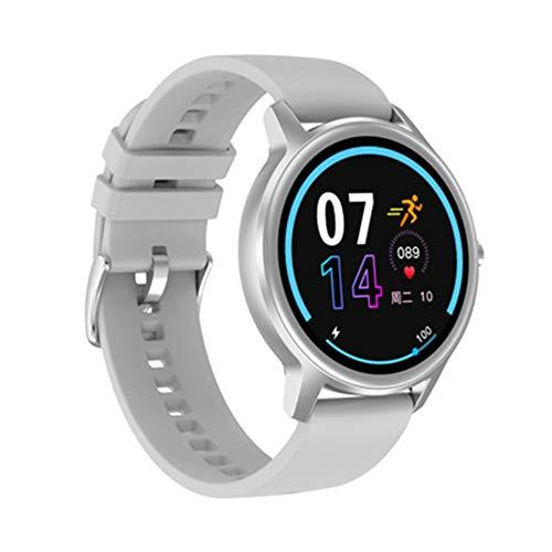 LXZ 1,28 Zoll Im Freien Gesunden Schlaf Stoppuhr Pulsuhr Bluetooth wasserdichte Multi-Sport Multifunktionalen Smart Uhr Für Männer Und Frauen,D