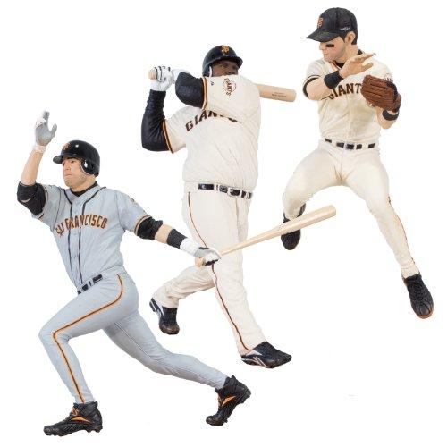 McFarlane MLB 2012 World Series San Francisco Giants 3-Fig.