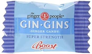 Gin Gins Super Strength Caramel Ginger Candy 2lb Bag