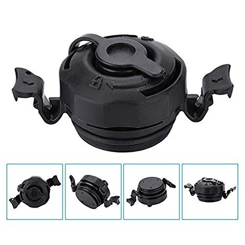 HUAFY Air Valve Caps for Inflatables Replacement Intex Mattress Cap,3 in 1 Air Valve Secure Seal Cap for Intex Inflatable Airbed Mattress Black,Sturdy and Anti-Corrosion