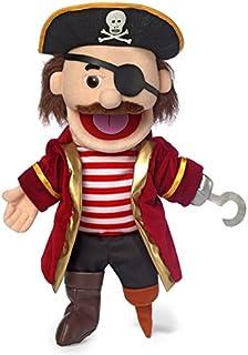 "14"" Pirate w/ Peg Leg, Hand Puppet"
