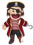 14' Pirate w/ Peg Leg, Hand Puppet