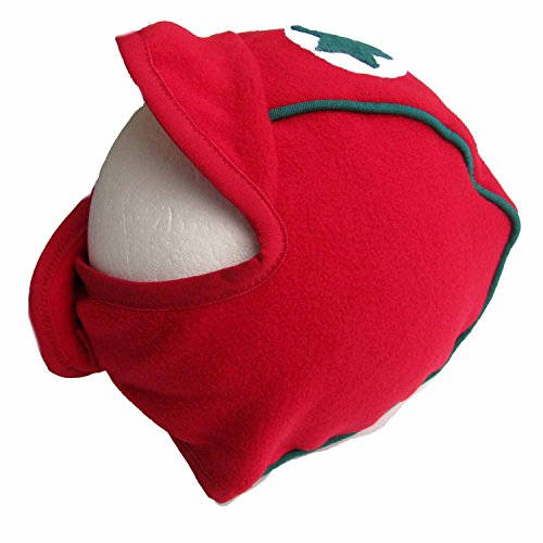 Kik-Kid Baby Mütze Cap Speedy Fleece rot 0-2 Monate / 50-56