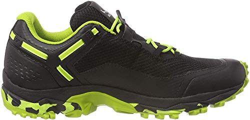 Salewa MS SPEED BEAT GTX, Herren Traillaufschuhe, Schwarz (Black Out/fluo Yellow 978), 44.5 EU (10 UK)