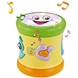 fisca Two-Sided Musical Drum for Baby &...