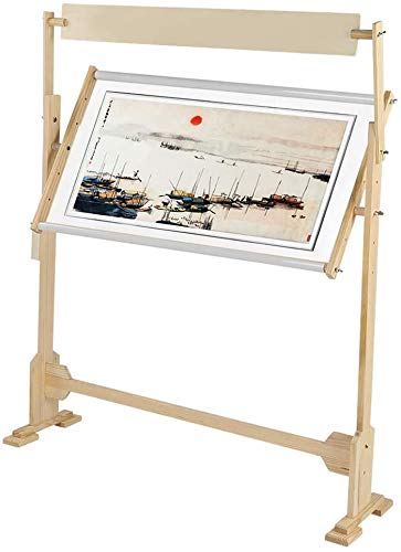 Cross Stitch Frame Stand, 360 Degree Adjustable Embroidery Stand...