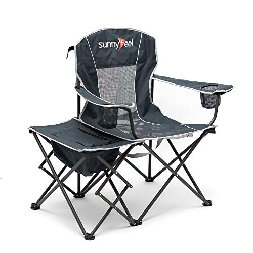 SUNNYFEEL Camping Chair with Side Table.