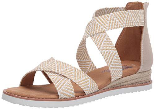 Skechers Damen 113114-NTW_40 Outdoor Sandals, beige, EU