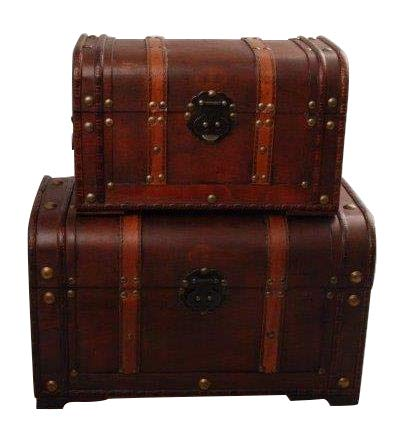 Juego de cajas del tesoro MYBOXES 39 x 22,5 x 23,5 cm y 29,8 x 18 x 18,3 cm