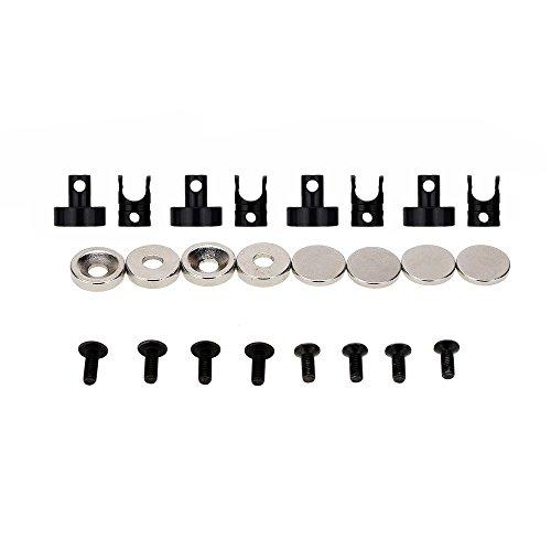 Homyl 4X Magnetische Unsichtbare Karosserie Halterung Universal für 1/10 RC Auto